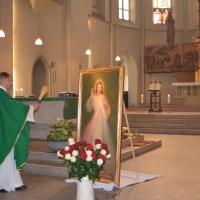 Poświęcenie obrazu Pana Jezusa Miłosiernego - 19.10.2014