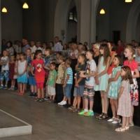30.08.2015 – Przywitanie S. Alicji Wenc i rozpoczęcie nowego roku katechetycznego.