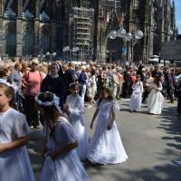 Boże Ciało - Katedra Köln - 04.06.2015