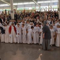 Dzieci komunijne w Banneux 30.05.2015