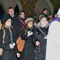 01.11.2016 Procesja we Wszystkich Świętych na Westfriedhof w Köln.