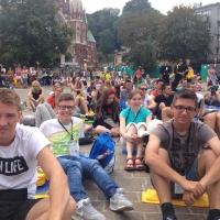 25.07 - 01.08.2016 Nasza młodzież na spotkaniu młodych w Krakowie.