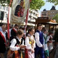 26.05.2016 - Uroczystość Bożego Ciała przed katedrą w Köln.