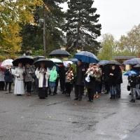 01.11.2018 - Procesja na Westfriedhof z okazji Wszystkich Świętych.