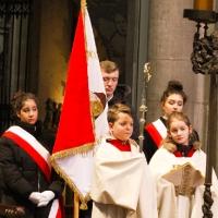 04.03.2018 - Msza św. w Katedrze Kolońskiej pod przewodnictwem Ks. Bp. Artura Mizińskiego - Sekretarza Episkopatu.