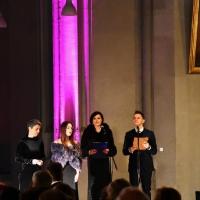 11.03.2018 - W kościele św. Pawła - Droga Krzyżowa - Pasja z obrazami Jerzego Dudy Gracza.