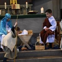 21.01.2018 - Jasełka w kościele św. Pawła w Köln.
