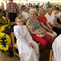 26.05.2018 - Dzieci komunijne na pielgrzymce w Banneux.