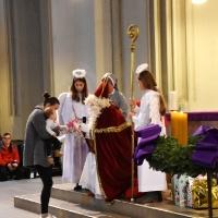 08.12.2019 - Święty Mikołaj w naszej parafii.