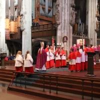 17.03.2019 - Msza św. w katedrze kolońskiej.