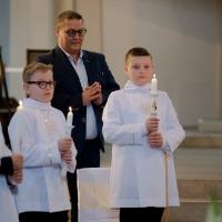 11.06.2020 - Uroczystość Pierwszej Komunii Świętej._28