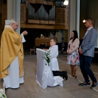 11.06.2020 - Uroczystość Pierwszej Komunii Świętej._42