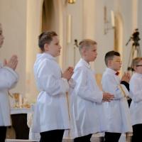 11.06.2020 - Uroczystość Pierwszej Komunii Świętej._54