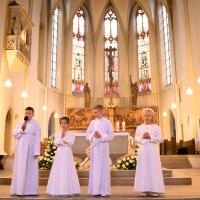 03.06.2021 Uroczystość pierwszej Komunii Świętej
