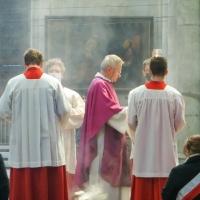 07.03.2021 - Msza Św. w katedrze Kolońskiej.